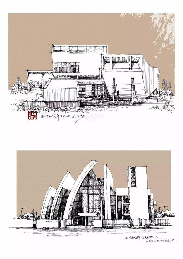 掌握建筑设计手绘很简单,只需12天!