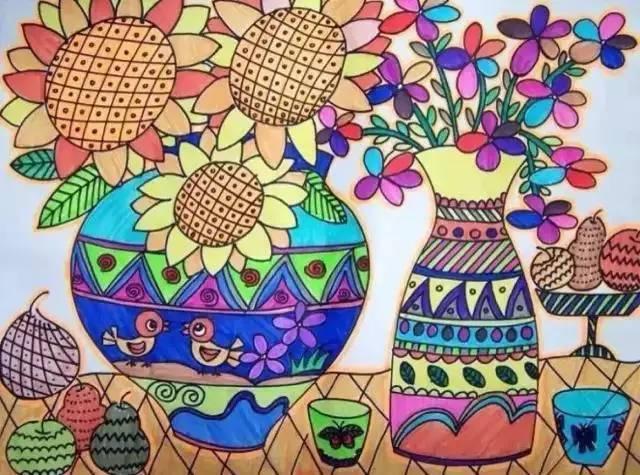 儿童画 640_475图片