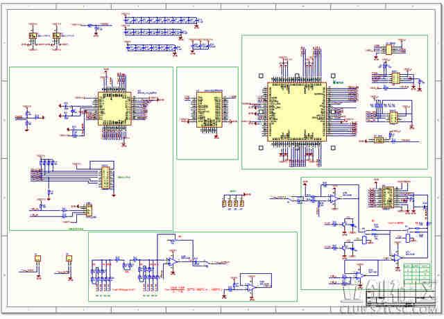 示波器电路�_上位机再控制信号源产生频率可变的扫频信号,同时用示波器测量电路