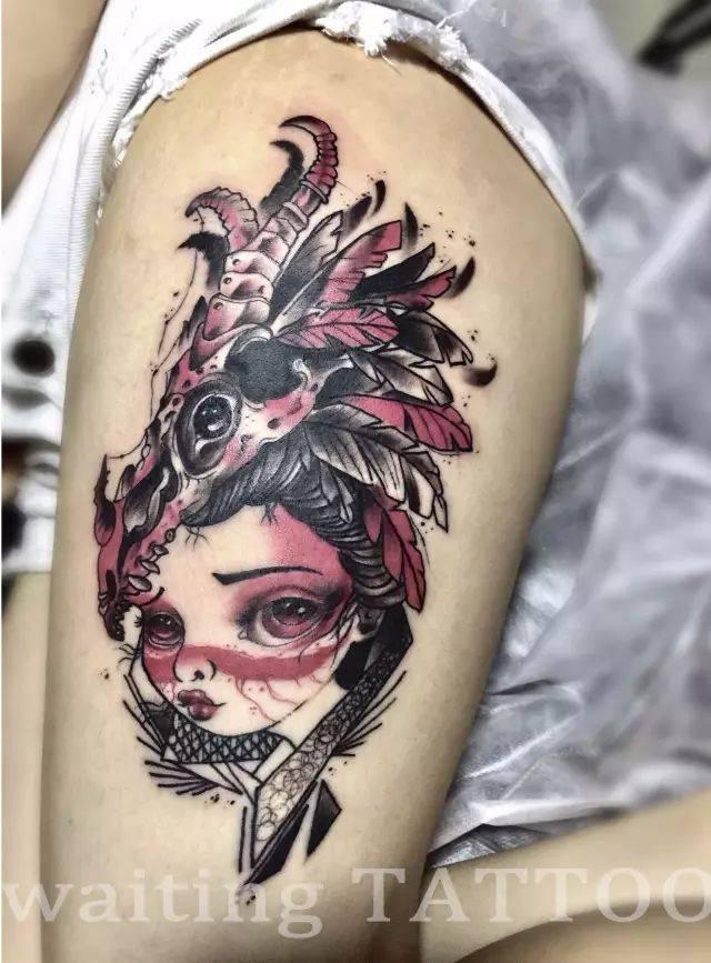 徐真真都点名翻牌的这家纹身工作室要搞事情了!图片