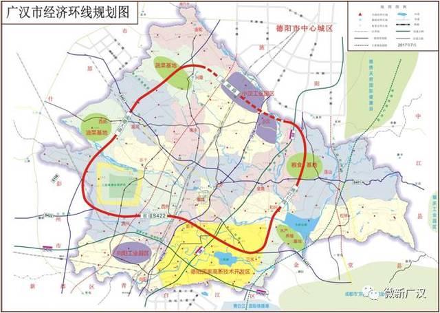 成都地铁23号线延伸线(经彭州到广汉,规划中),成都地铁36号线(经龙潭