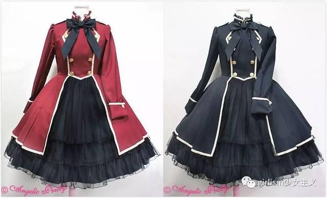 军装lolita | 穿上这些裙子,你就是最帅气的lo娘图片