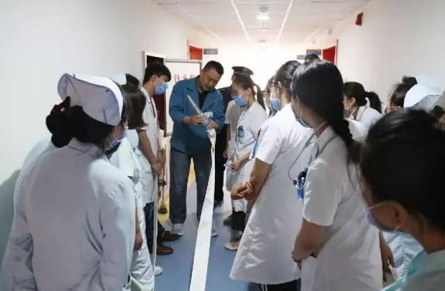 北京首儿李桥儿童医院内科病房举办消防安全演练