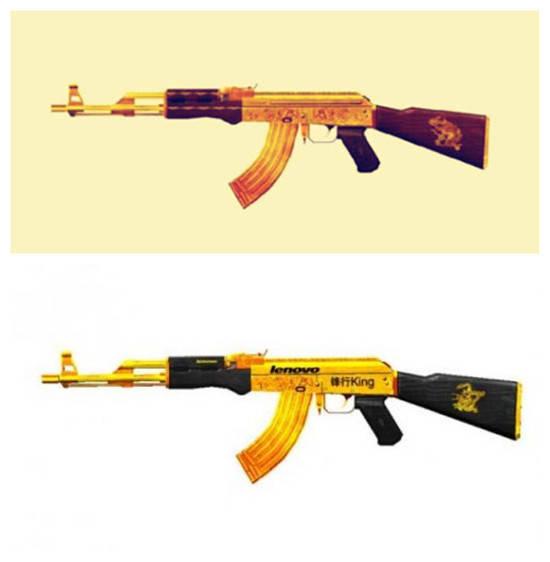 国际货�9ak9c_ak-47:暗金火蛇 pk 《穿越火线》-联想锋行黄金ak 提到ak-47,或许大