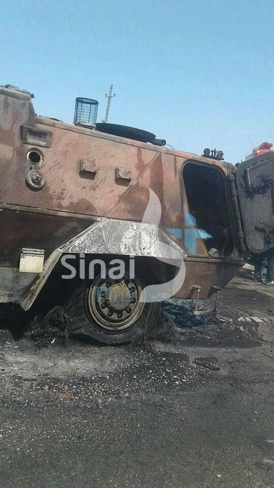 又一起911恐袭事件发生 埃及安全巡逻车队遭is袭击