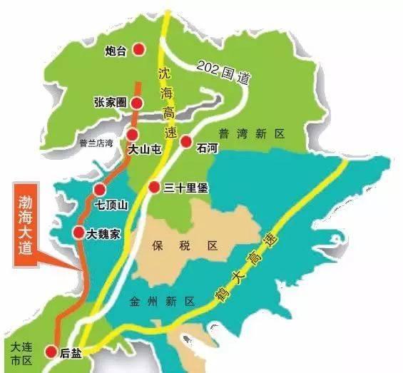 金普新区经济总量占全市多少_金普新区北九里规划图