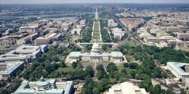 美国首都华盛顿——景观格局规划