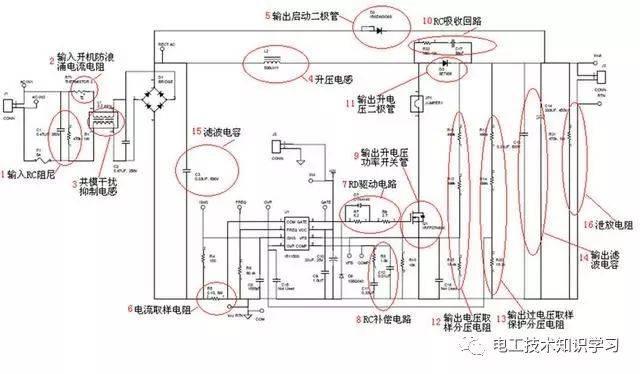 电路图符号大全 图解复杂电路图解析方式值得收藏-电工技术知识学习
