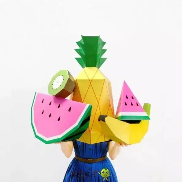奇妙的水果世界,亲子手工diy 水果沙拉