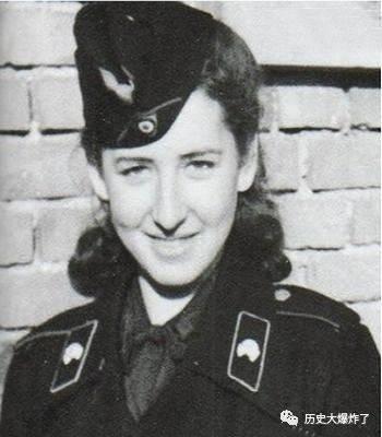 伊尔玛 格蕾泽 上帝都不会原谅的纳粹看守,死后无人为其收尸图片