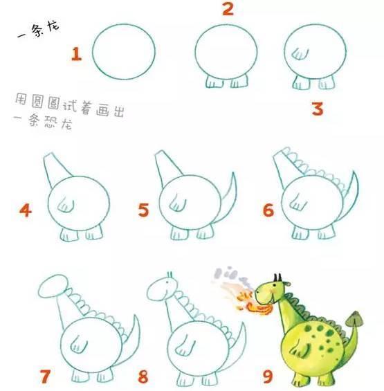 再来画画白云间的热气球,草地上的蚯蚓,怎么样?是不是简单有趣呢?图片