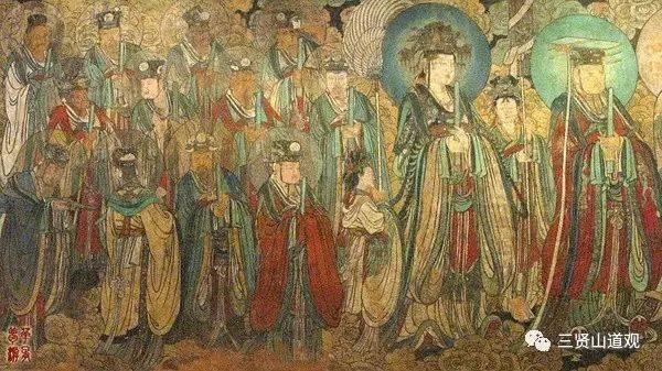 八月初八,西王母娘娘的瑶池大会热闹非凡