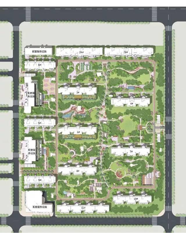 简单cad庭院设计平面图