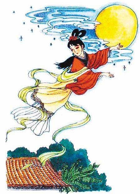 嫦娥奔月 嫦娥奔月是中国神话传说故事,讲述了嫦娥被逼无奈吃下了仙图片