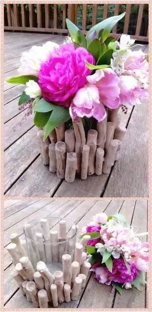 diy个性花瓶,自己动手制作吧,喜欢的盆友