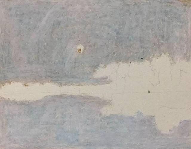 教程|用油画棒临摹俄罗斯风景画