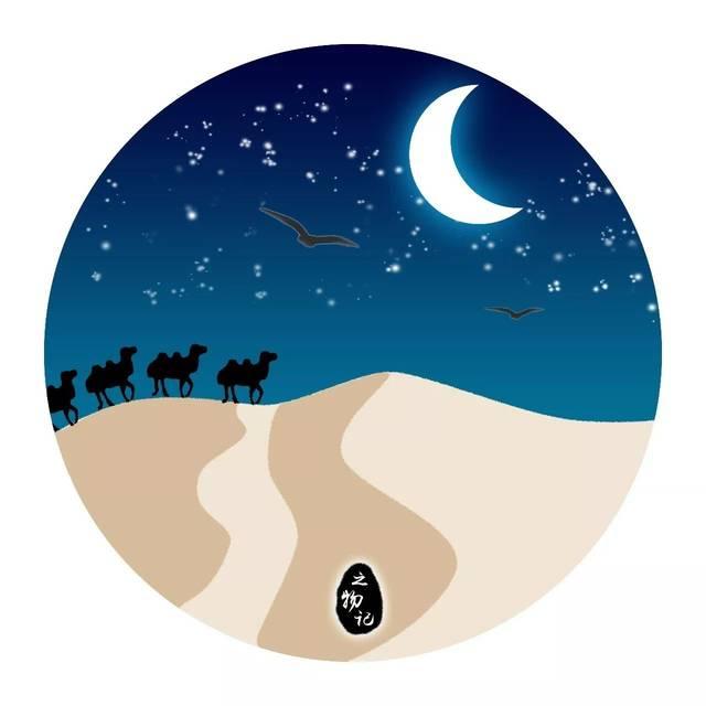 燕山月似钩_插画丨大漠沙如雪,燕山月似钩