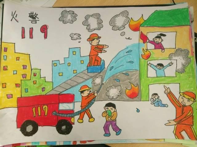 """【投票】""""我是小小消防员""""第二届儿童消防绘画作文竞赛开始投票啦!"""