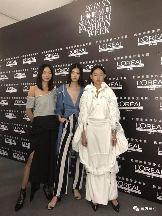 2018春夏上海时装周  东方宾利模特军团演绎chaber c
