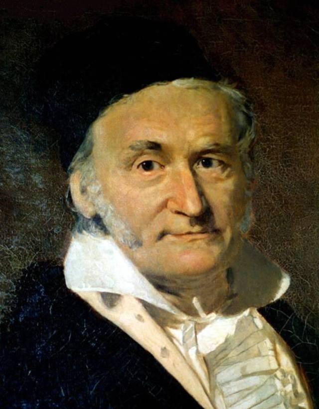 卡尔·弗里德里希·高斯油画肖像