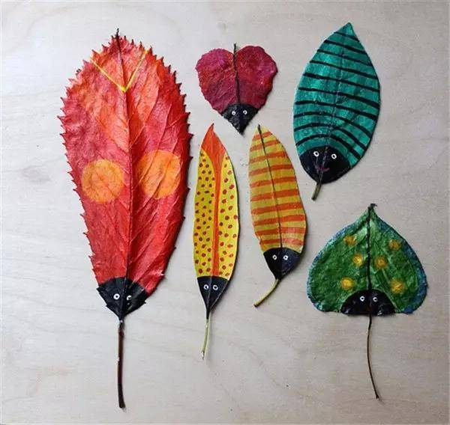 相比前几款diy,树叶灯罩做法略显复杂,但是唯美自然的外观,是打造图片