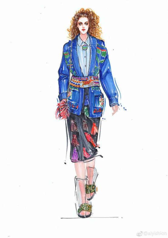 考上纽约时装设计学院—服装设计专业的心得体会图片