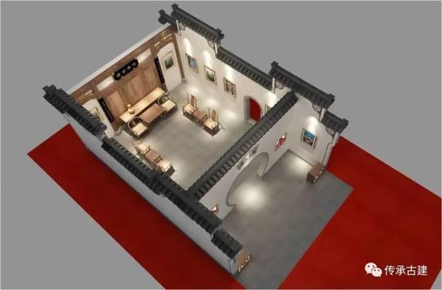 部分展厅效果图展示 将传统建筑设计技术与设计院独特创新设计理念图片