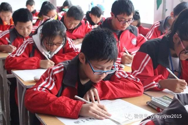 【学校学期】宜阳县思源v学校新闻举行本学校第一次月考兄弟7470d扫描步奏图片