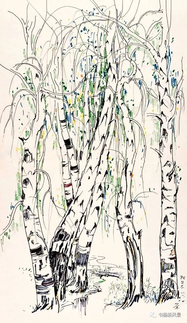 国画 简笔画 手绘 线稿 640_1106 竖版 竖屏
