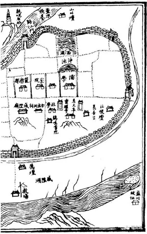 清代邵嗣骧所作的《云上》这首诗中描绘的并不是杭州西湖,而是龙游图片