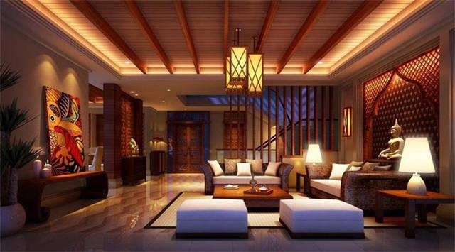 别墅客厅十大风格装修效果图 享受别样奢华!