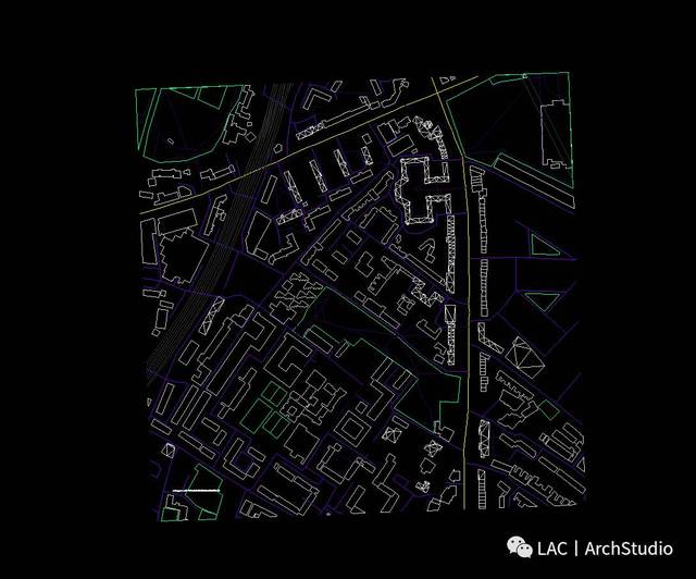 小技巧丨两种方法获取任意地区cad地形图!棉吸音cad图片