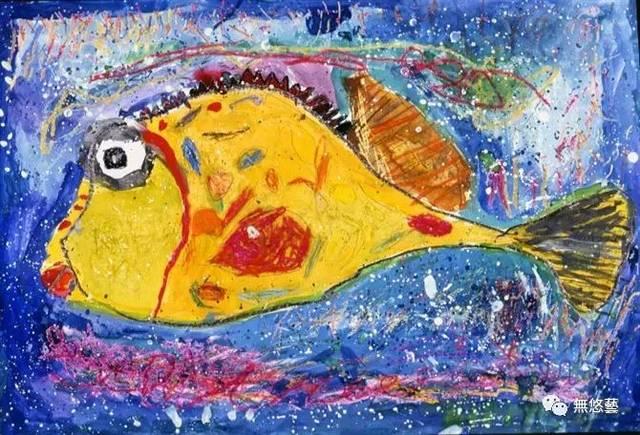 世界儿童画金奖作品丨赤子之心才是艺术最好的老师图片