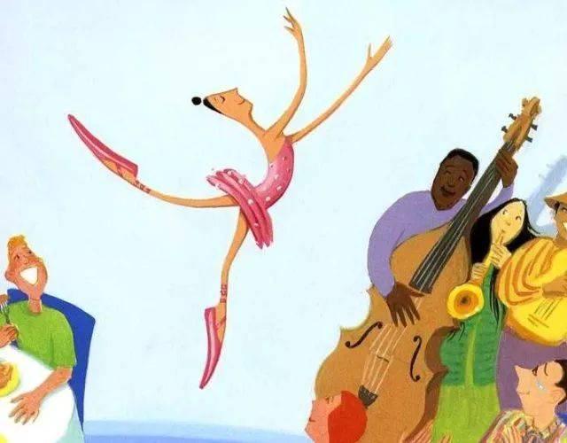 绘本系列 | 大脚丫跳芭蕾图片