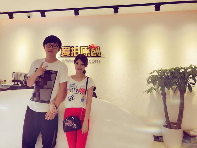陈子豪,郭琳然夫妇赴广州受邀参与爱拍群星见面会