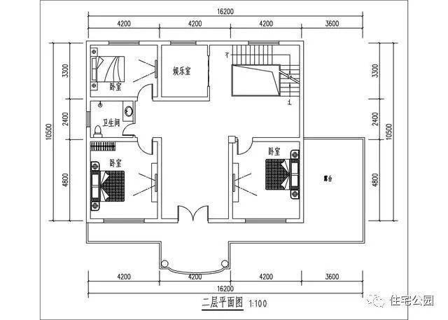 自建16x10米农村2层别墅,网友实拍,有露台有花园!图片