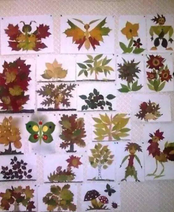 长廊文化之秋季主题墙的创设图片