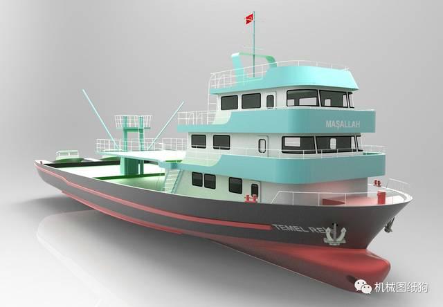 【海洋渔船】TemelReis号船舶v海洋股份江苏朗昇智慧建筑设计图纸有限公司图片