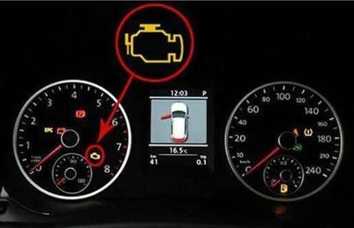 如果水温表和机油压力报警灯没有报警,那车子还是可以开的,但此时一定