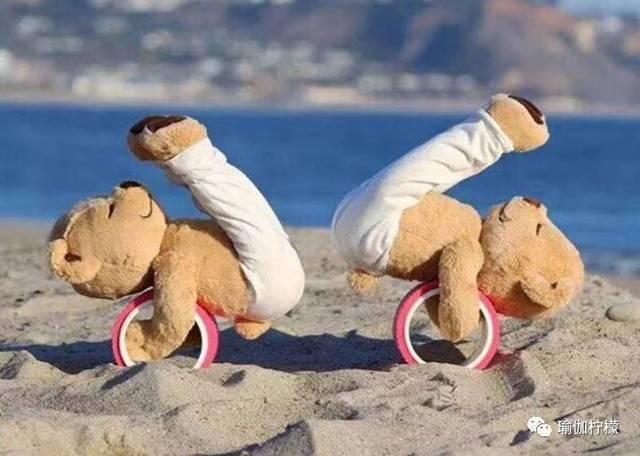 好物丨最近全球的瑜伽網紅都在用它凹造型,這只瑜伽熊圖片