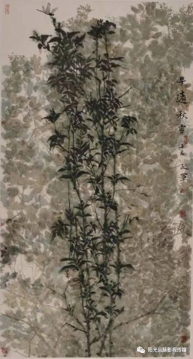 在繁杂中修行素雅在恬静中完成升华 ——著名花鸟画家付永军的丹青世界