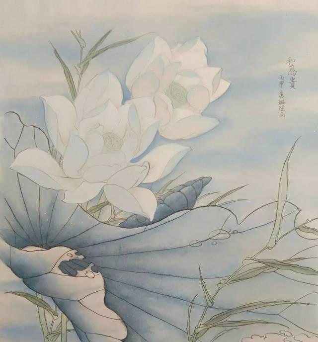 宣纸:工笔画用熟宣纸或是熟绢,是生比例或生绢经过一定用纸的胶矾水vn使用技巧图片