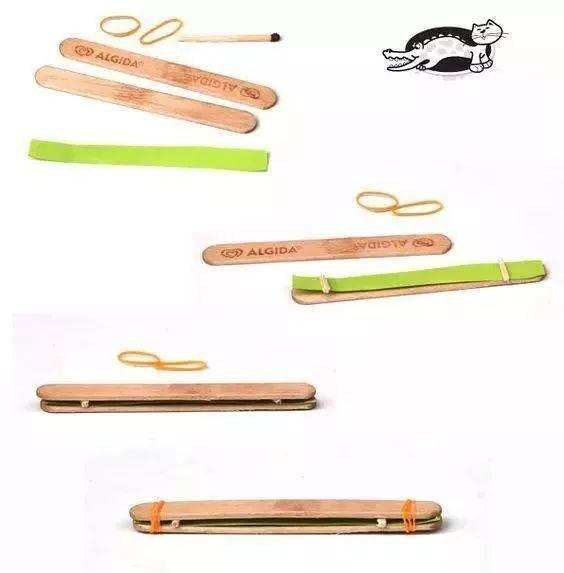 幼儿手工制作之废物利用:你想要的儿童玩具乐器都在这