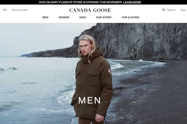 Canada Goose最新季報銷售額大增34.7%,股價應聲沖上
