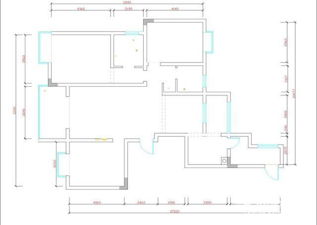 cad基础自学教程,平面图中的窗和墙表显_手机搜狐网