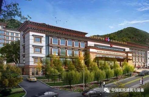 这家藏式芒康风格医院闻得到酥油茶的香味图片