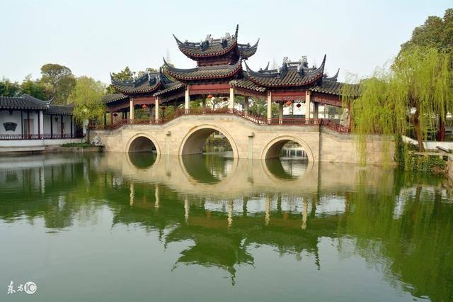 中国目前规模最大私家园林苏州静思园这块镇园之宝巨石 两朝皇帝都图片