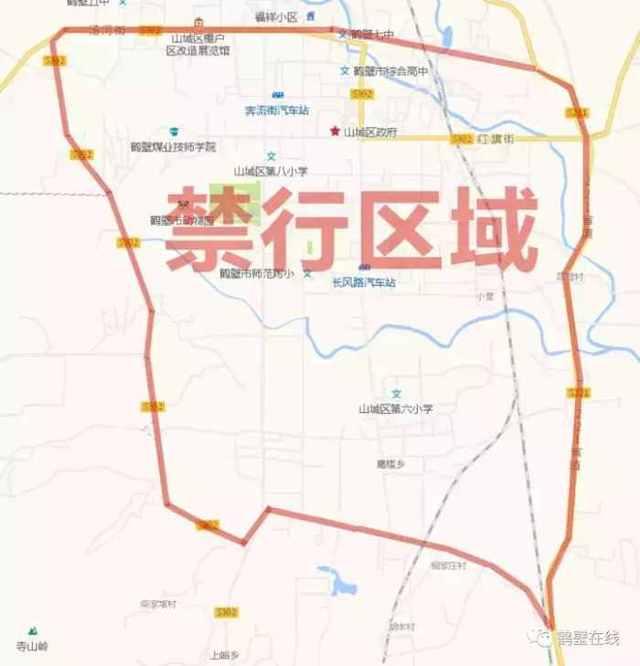 新107国道鹤壁段规划图