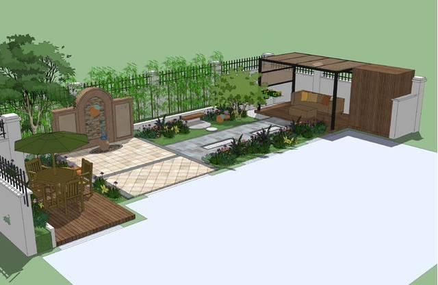 8种别墅庭院设计效果图诠释 8种经典设计风格