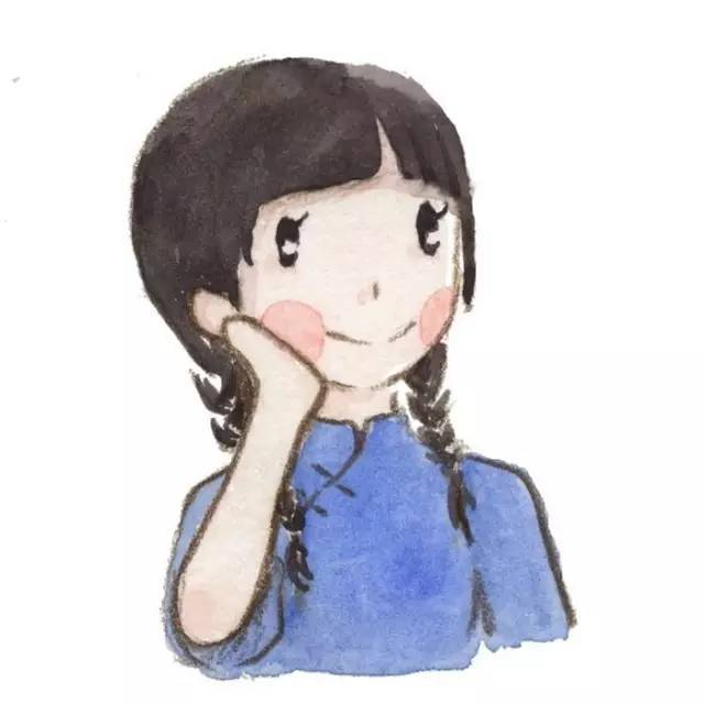 来自beryl的情侣手绘头像